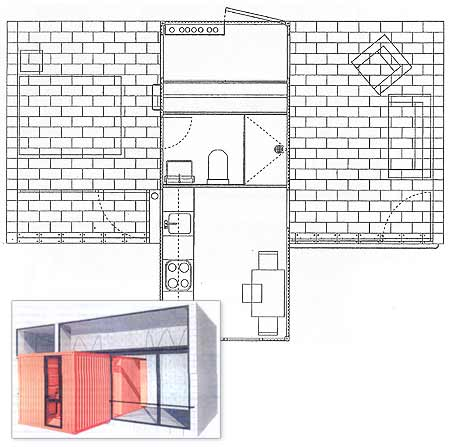 Anne lacaton y jean philippe vassal for Vivir en 50 metros cuadrados