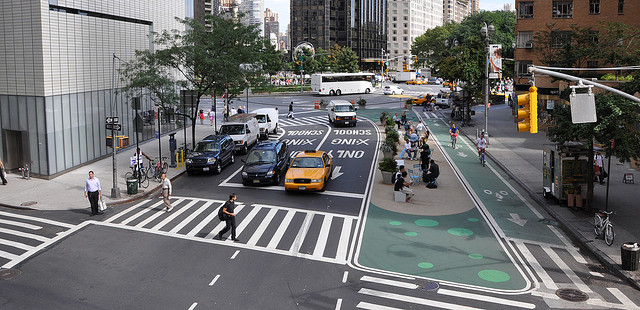 Broadway: Greenlight for Midtown, 2009. NYCDOT. Fuente: Flickr
