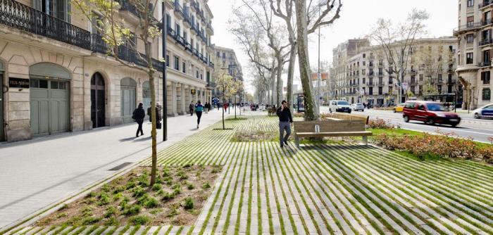 Remodelación del Passeig Sant Joan. Lola Domènech.