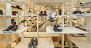 Interior tienda Camper, Milano. Imagen del blog Camper