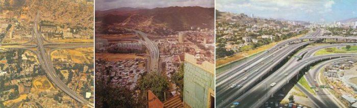 Caracas. Vistas de la autopista F.F. Fuente www.skyscrapercity.com. Autor desconocido.